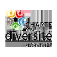 Logo charte de la diversité en entreprise