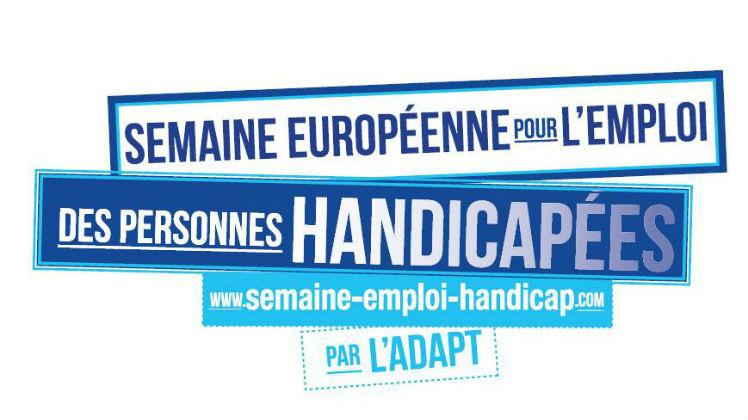 Semaine européenne emploi personnes handicapées