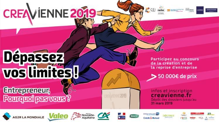 Concours CréaVienne 2019 - partenaire Deastance Services