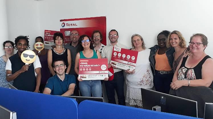 Gestion de la relation client de Total Fleet : l'équipe de Deastance Services au complet