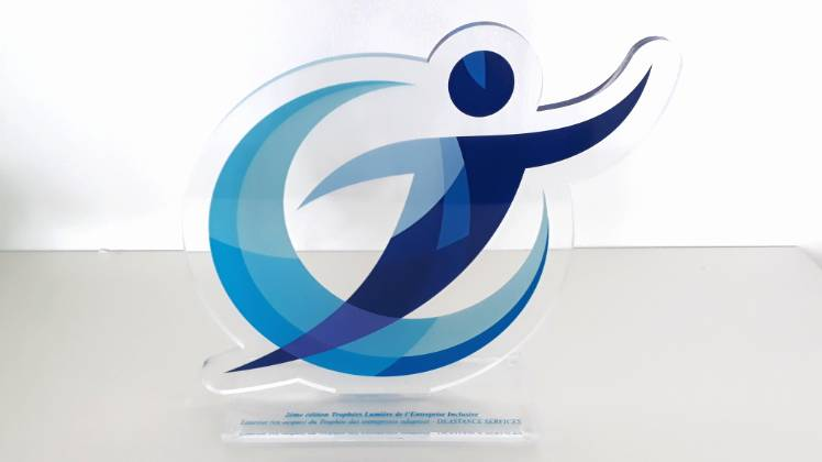 Trophée Entreprises Adaptées remis à Deastance Services