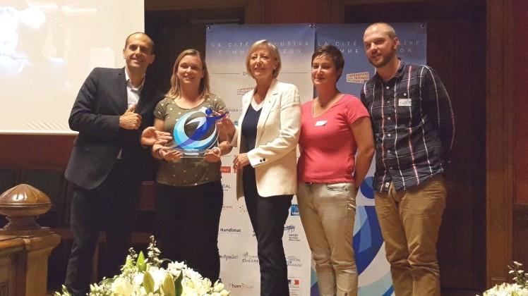 Deastance Services reçoit le Trophée Lumière des entreprises adaptées