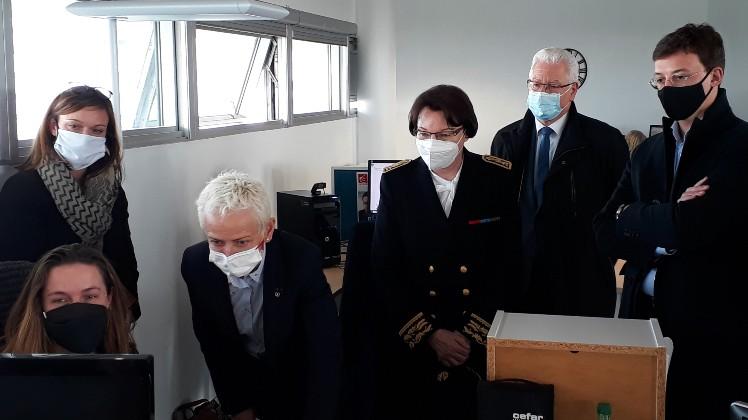 Brigitte Klinkert visite Deastance Services